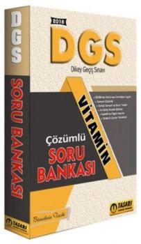Tasarı Yayınları 2018 DGS Vitamin Çözümlü Soru Bankası