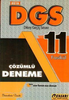 Tasarı Yayınları 2018 DGS 11 Çözümlü Fasikül Deneme