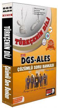 Tasarı Yayınları 2018 DGS ALES Türkçenin Dili Çözümlü Soru Bankası