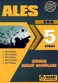 Tasarı Yayınları 2018 ALES Son 5 Yıl Çıkmış Sınav Soruları