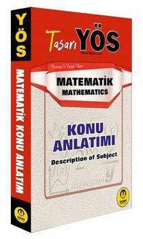 Tasarı Yayınları 2020 YÖS Matematik Konu Anlatımı
