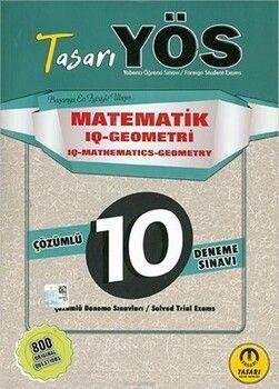 Tasarı Yayınları YÖS Matematik IQ Geometri 10lu Deneme
