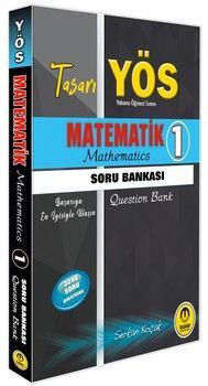 Tasarı Yayınları YÖS Matematik 1 Soru Bankası