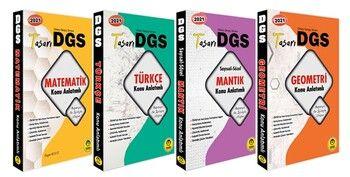 Tasarı Yayınları 2021 DGS Konu Anlatımı 4 Kitap Set