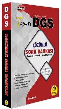 Tasarı Yayınları 2021 DGS Matematik Türkçe Çözümlü Soru Bankası