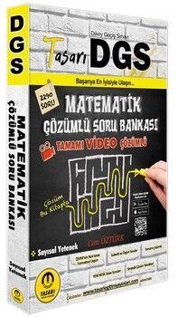Tasarı Yayınları DGS Matematik Video Çözümlü Soru Bankası