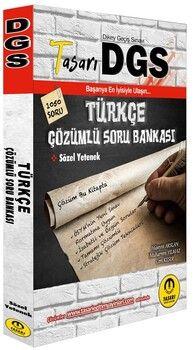 Tasarı Yayınları DGS Türkçe Çözümlü Soru Bankası