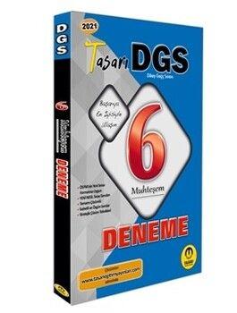 Tasarı Yayınları 2021 DGS 6 Muhteşem Fasikül Fasikül Deneme