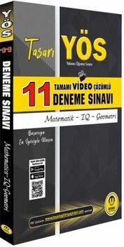 Tasarı Yayınları YÖS Matematik Geometri Video Çözümlü 11 Deneme