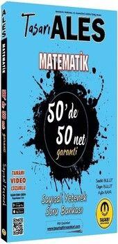 Tasarı Yayınları2021 ALES Matematik 50 de 50 Net Sayısal Yetenek Video Çözümlü Soru Bankası