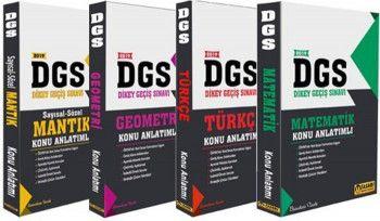 Tasarı Yayınları 2019 DGS Konu Anlatımlı Modüler Set