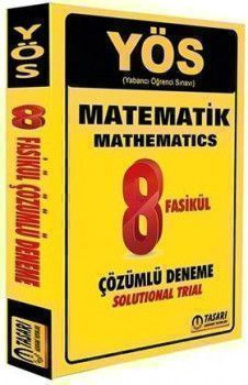 Tasarı Yayınları YÖS Matematik 8 Fasikül Deneme