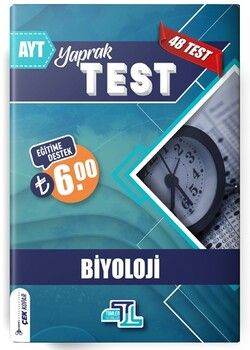 Tümler Yayınları AYT Biyoloji Yaprak Test