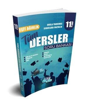 Tümler Yayınları11. Sınıf Tüm Dersler Eşit Ağırlık Soru Bankası