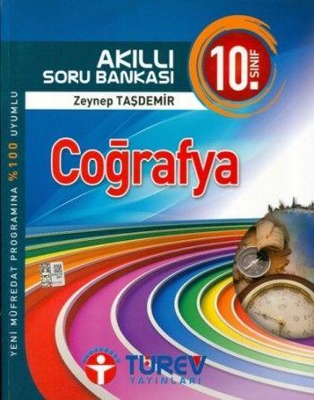 Türev Yayınları 10. Sınıf Coğrafya Akıllı Soru Bankası
