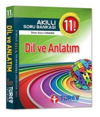 Türev Yayınları 11. Sınıf Dil ve Anlatım Akıllı Soru Bankası