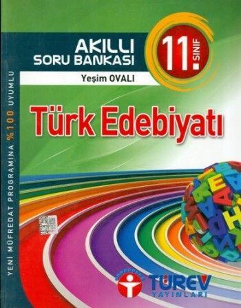 Türev Yayınları 11. Sınıf Tük Edebiyatı Akıllı Soru Bankası
