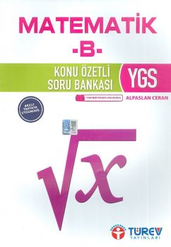 Türev Yayınları YGS Matematik B Konu Özetli Soru Bankası