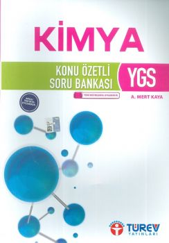Türev Yayınları YGS Kimya Konu Özetli Soru Bankası