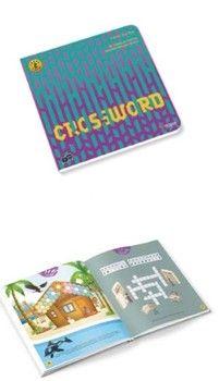Tüzder Yayınları Crossword IQ Dikkat ve Yetenek Geliştiren Kitaplar Serisi 6