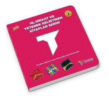 Tüzder Yayınları IQ Dikkat ve Yetenek Geliştiren Kitaplar Serisi Level 3