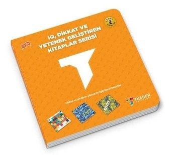 Tüzder Yayınları IQ Dikkat ve Yetenek Geliştiren Kitaplar Serisi Level 2