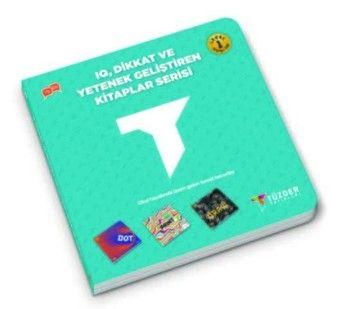Tüzder Yayınları IQ Dikkat ve Yetenek Geliştiren Kitaplar Serisi Level 1