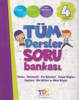 TDY Yayınları 4. Sınıf Tüm Dersler Soru Bankası