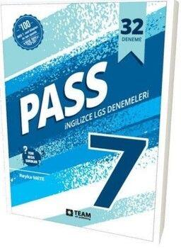 Team Elt Publishing 7. Sınıf Pass LGS İngilizce 32 Deneme Sınavı