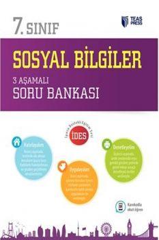 Teas Press 7. Sınıf Sosyal Bilgiler 3 Aşamalı Soru Bankası