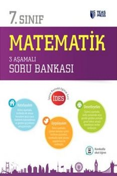 Teas Press 7. Sınıf Matematik 3 Aşamalı Soru Bankası