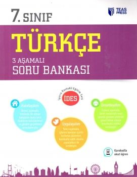 Teas Press 7. Sınıf Türkçe 3 Aşamalı Soru Bankası