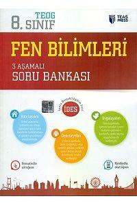 Teas Press Yayınları 8.Sınıf TEOG Fen Bilimleri 3 Aşamalı Soru Bankası
