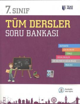 Teas Press Yayınları 7.Sınıf Tüm Dersler Soru Bankası