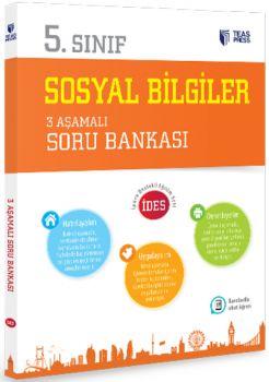 Teas Press Yayınları 5. Sınıf Sosyal Bilgiler 3 Aşamalı Soru Bankası
