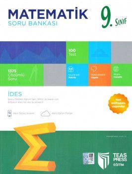 Teas Press Yayınları 9. Sınıf İDES Matematik Soru Bankası