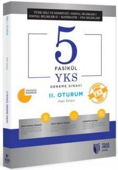 Teas Press Yayınları YKS 2. Oturum AYT 5 Fasikül Deneme Sınavı