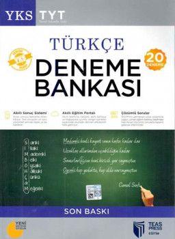 Teas Press Yayınları TYT Türkçe 20 Deneme Bankası