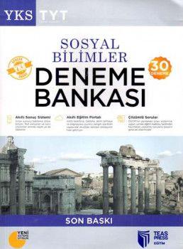 Teas Press Yayınları TYT Sosyal Bilimler 30 Deneme Bankası
