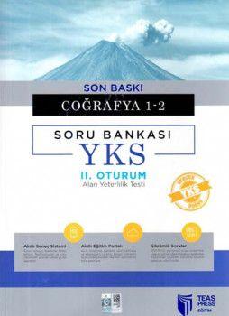 Teas Press Yayınları AYT Son Baskı Coğrafya 1 2 Soru Bankası