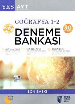 Teas Press Yayınları AYT Coğrafya 1 2  30 Deneme Soru Bankası