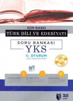 Teas Press Yayınları AYT Son Baskı Türk Dili ve Edebiyatı Soru Bankası