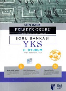 Teas Press Yayınları AYT Son Baskı Felsefe Grubu Soru Bankası