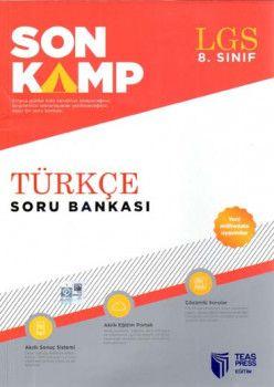 Teas Press Yayınları 8. Sınıf LGS Türkçe Son Kamp Soru Bankası