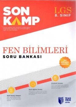 Teas Press Yayınları 8. Sınıf LGS Fen Bilimleri Son Kamp Soru Bankası