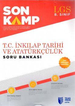 Teas Press Yayınları 8. Sınıf LGS T.C. İnkılap Tarihi ve Atatürkçülük Son Kamp Soru Bankası
