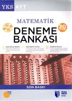 Teas Press Yayınları AYT Matematik 20 Deneme Bankası