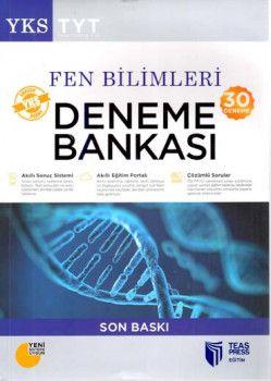 Teas Press Yayınları TYT Fen Bilimleri 30  Deneme Bankası