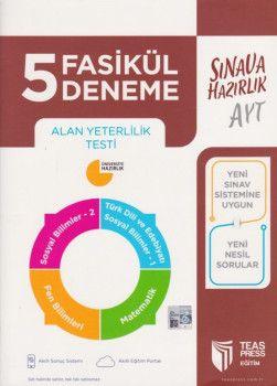 Teas Press Yayınları AYT 5 Fasikül Deneme