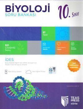 Teas Press Yayınları 10. Sınıf Biyoloji Soru Bankası